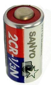 Lithium Battery Pack >> Sanyo 2CR1/3N (PX28L, L544, V28PXL) 6.0 Volt Lithium Battery for MasterPlus