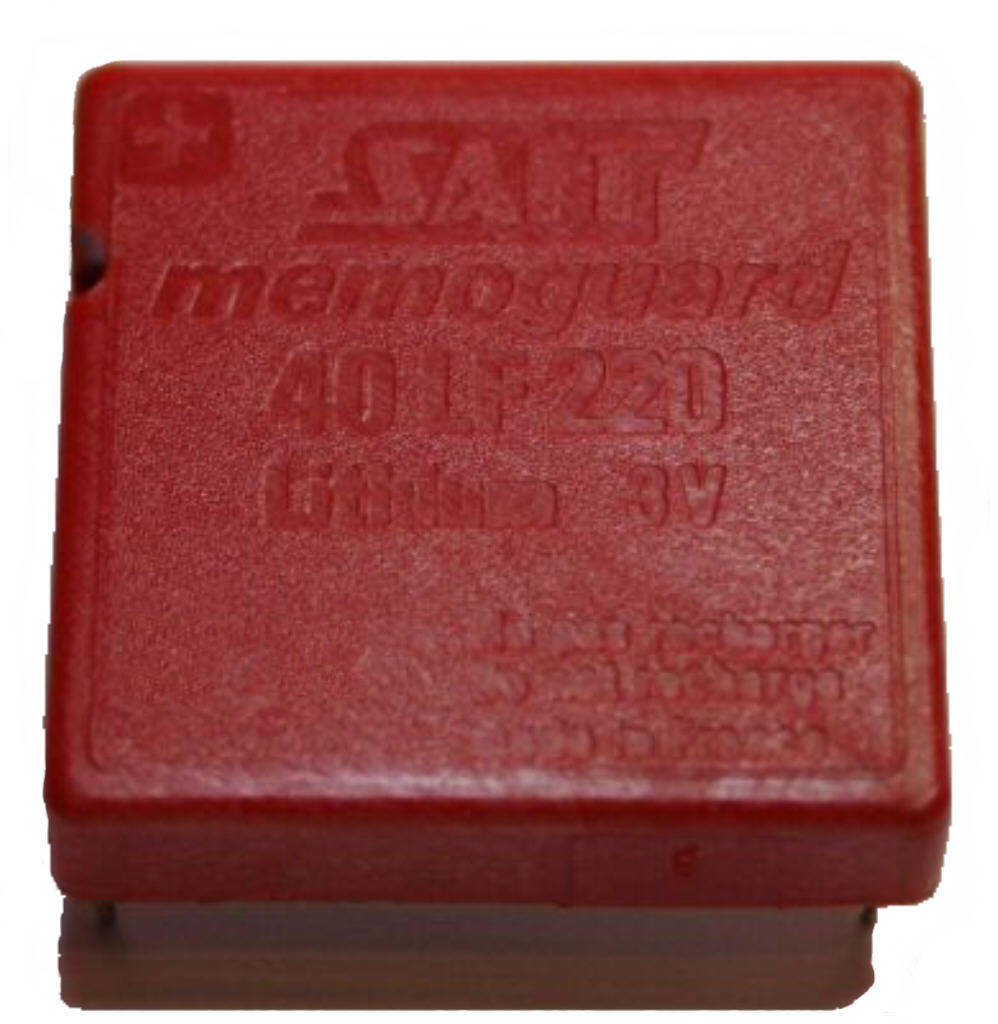 40lf220 Saft Memoguard 3 0v Lithium Encapsulated Cell 40