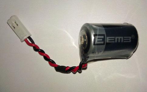 E.1 Siemens Lithium Cell 6ES7 971-1AA00-0AA0 //// 6ES7971-1AA00-0AA0