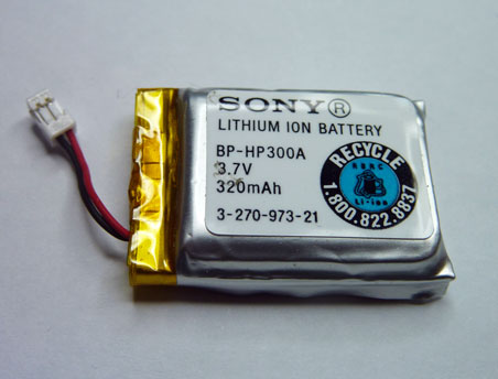 Sony Bp Hp300a Cordless Headset Battery Sony Bp Hp300a