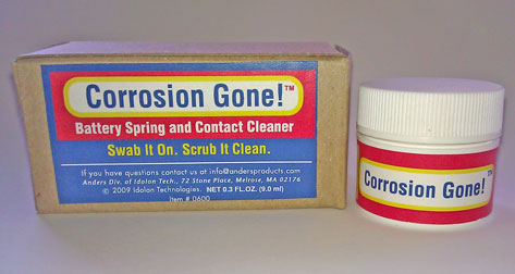 Corrosion Gone! - Cleans Corroded Electrical Contacts