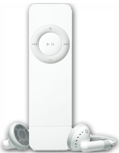 Apple Ipod Shuffle 1st Generation High Capacity 250 Mah