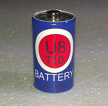 U8 R10 Energizer U8 Eveready U8 Battery